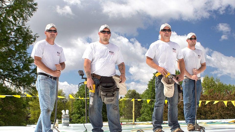Sentry Roofing Crew