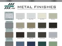 Exceptional Metals Color Sheet