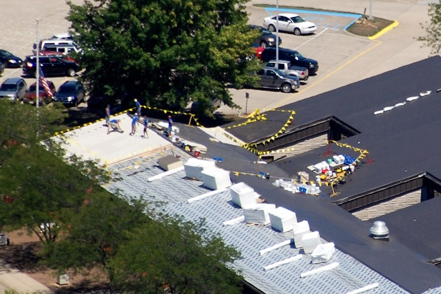 Springs Valley High School - Commercial Roofing Contractor Indiana