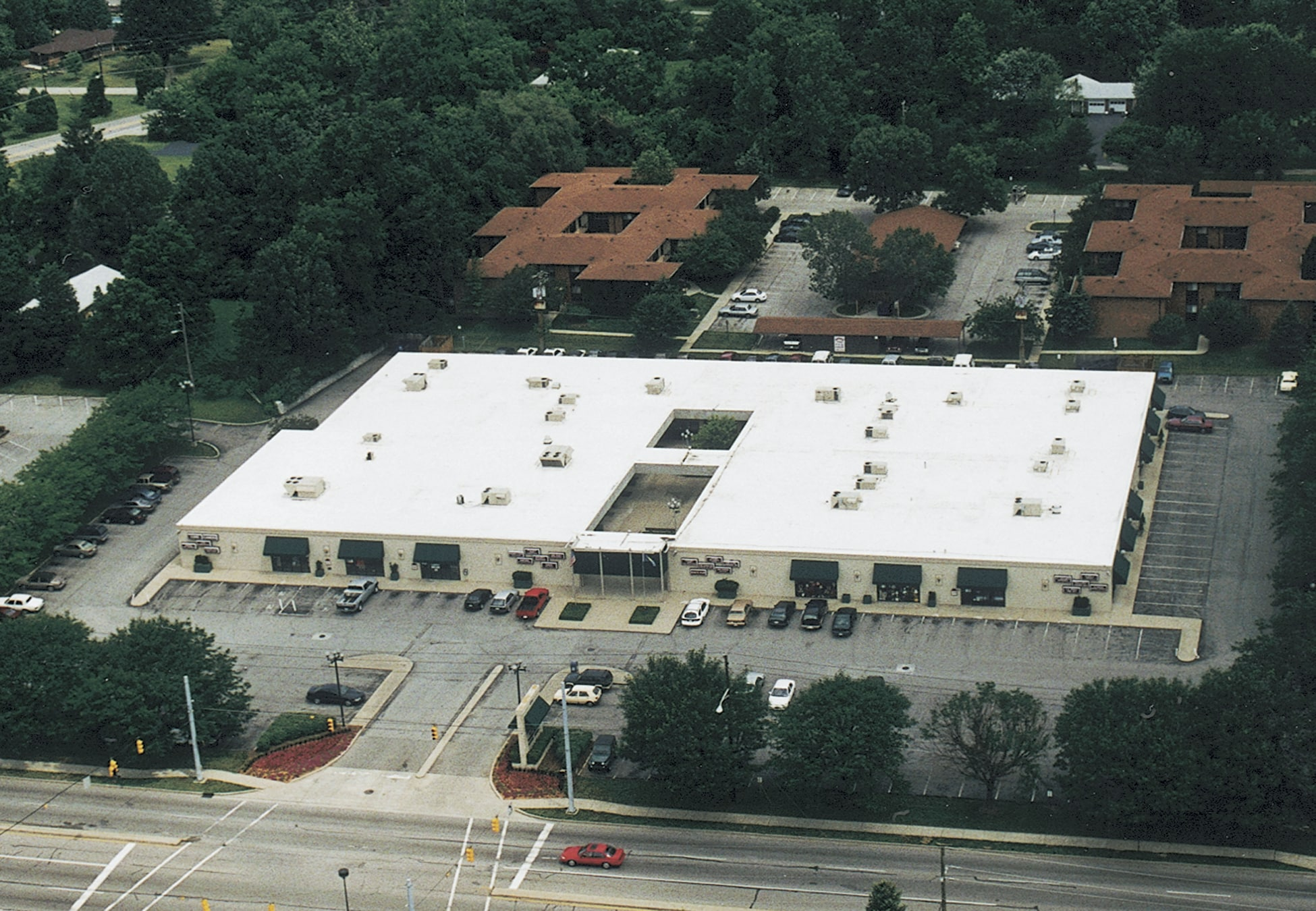 Duro Last Flat Roof Commercial Indianapolis In Northview Mall