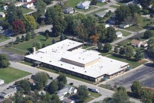 Flat Roof Commercial Roofing Contractors Covington, Indiana