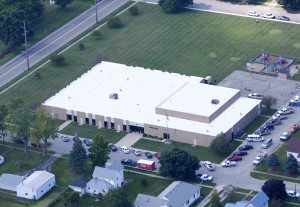 Government Property Flat Roofing Services in Goodland, Indiana