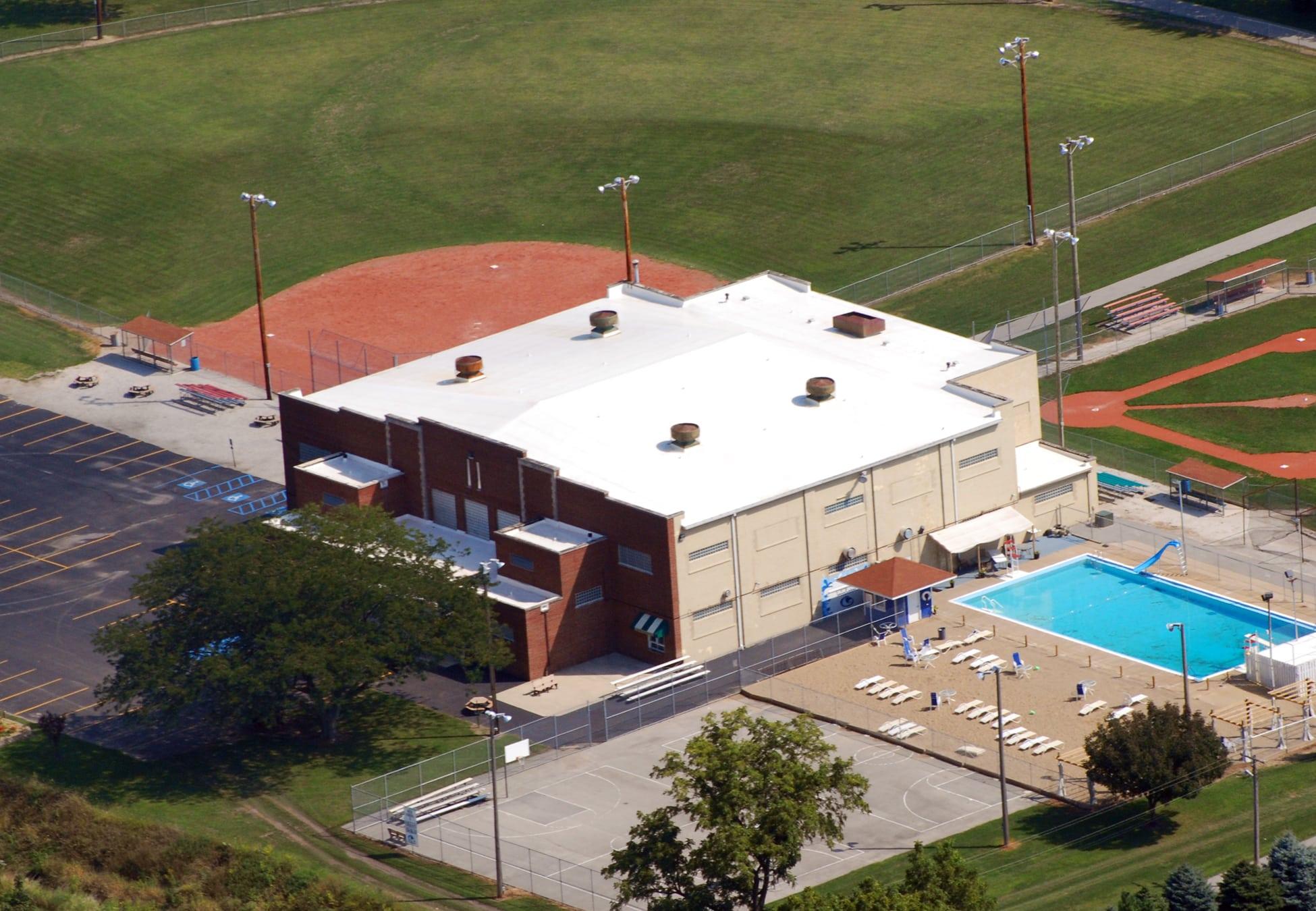 Duro Last Flat Roof Community Center Kentland, Indiana