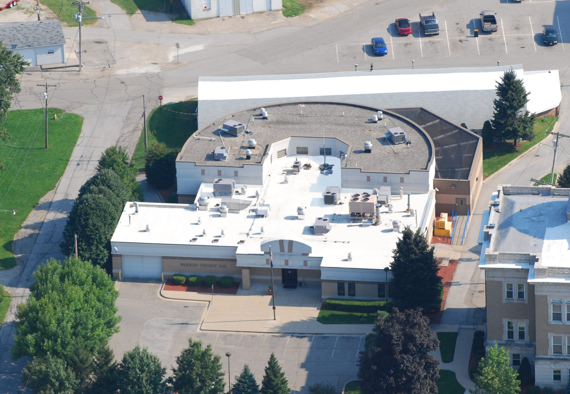 Commercial Flat Roofing in Williamsport, Indiana