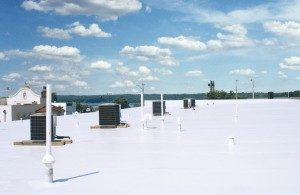 Low Slope Commercial Roofing Installation Danville, Illinois