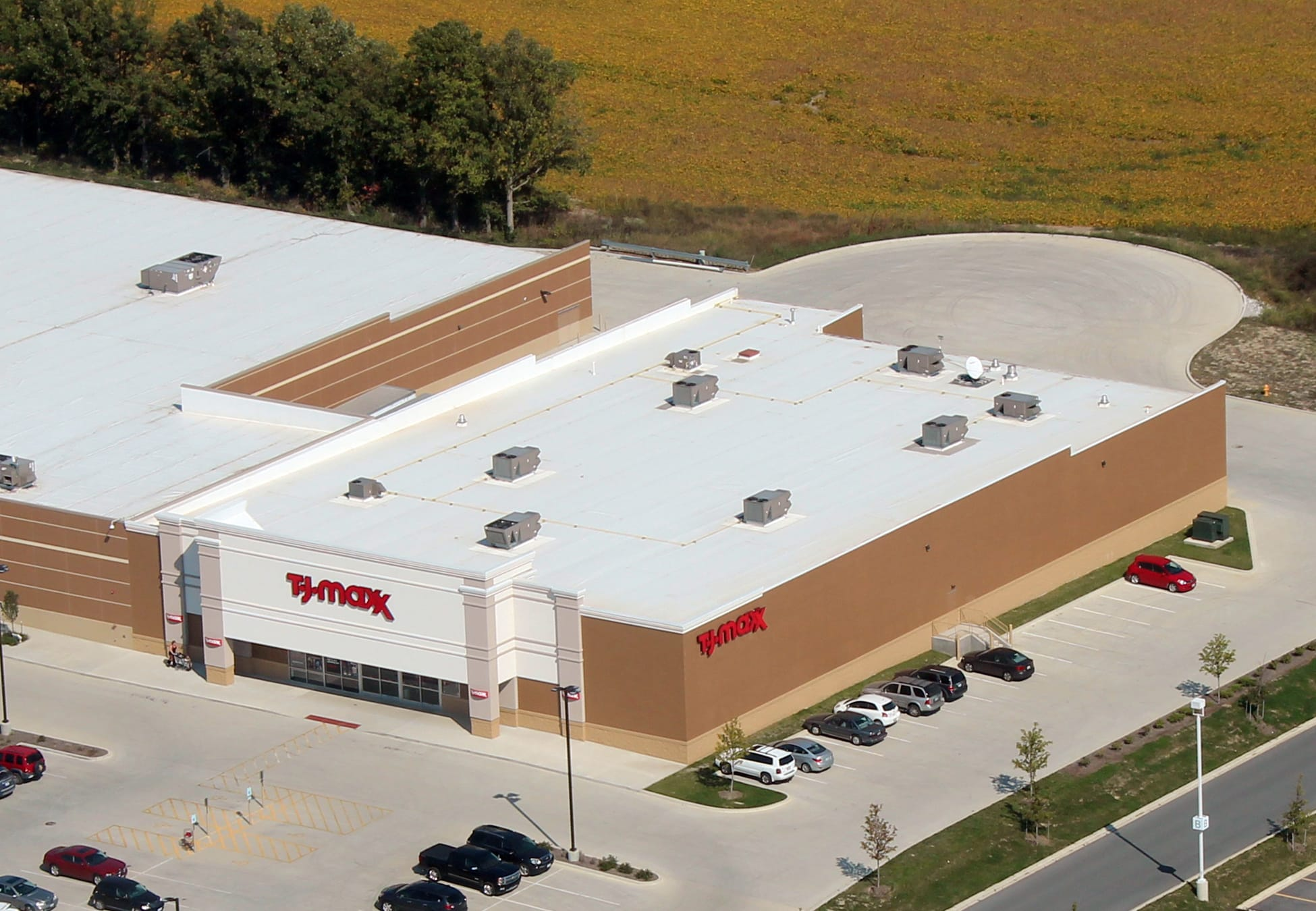 Firestone Flat Roof Commercial Roofing Danville, Illinois