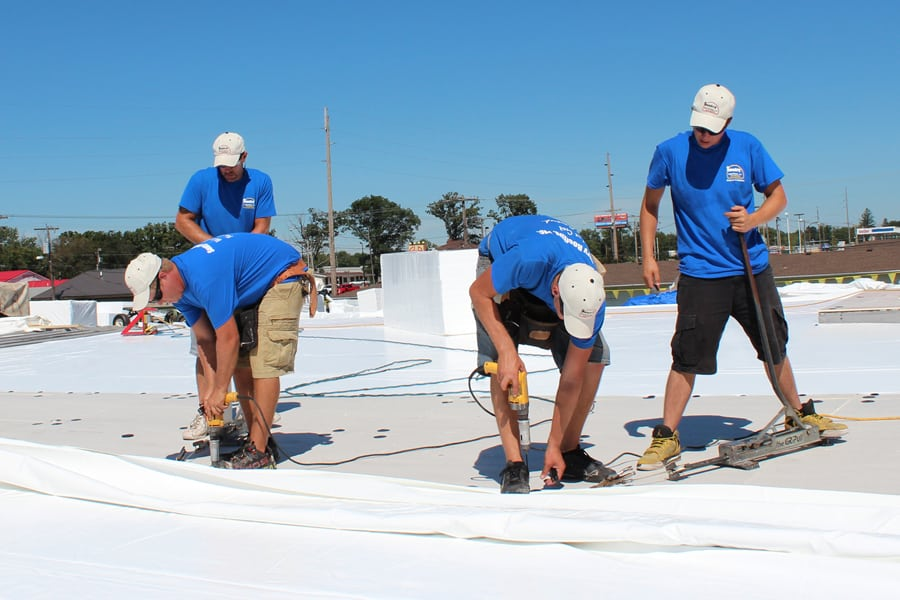 Commercial Roofing Company Illinois