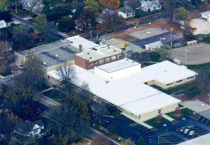 Flat Roof - St. Joseph IL Grade School - Commercial Contractors Illinois