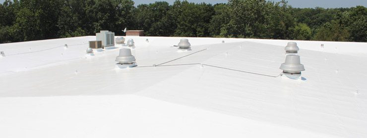 Duro-Last Slow Slope Roof Installation Membrane Williamsport, Indiana