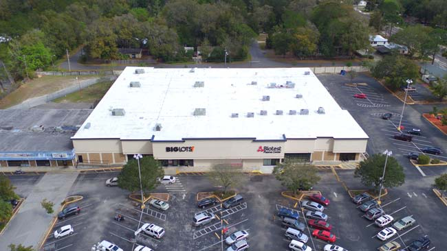 Gainesville Big Lots Roof Installation