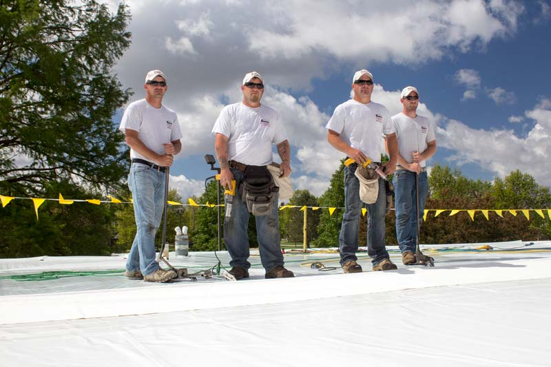 Experienced Roofing Contractor Team