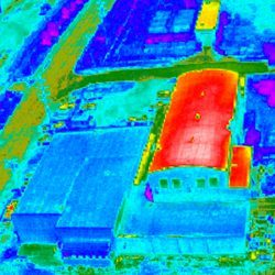 MTS Thermal Imaging - High Heat Rooftops