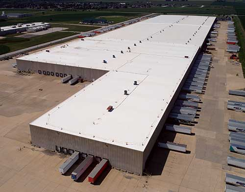 Manteno Commercial Roof Installation