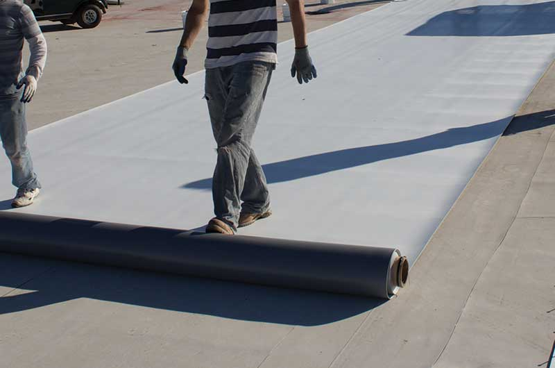 PVC Membrane Roofing Sheet / Roll