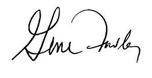 Gene Fowler Signature