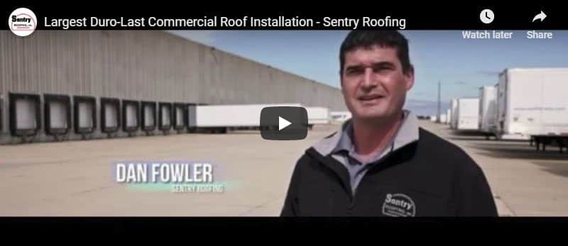 Largest Commercial Roof Installation Video