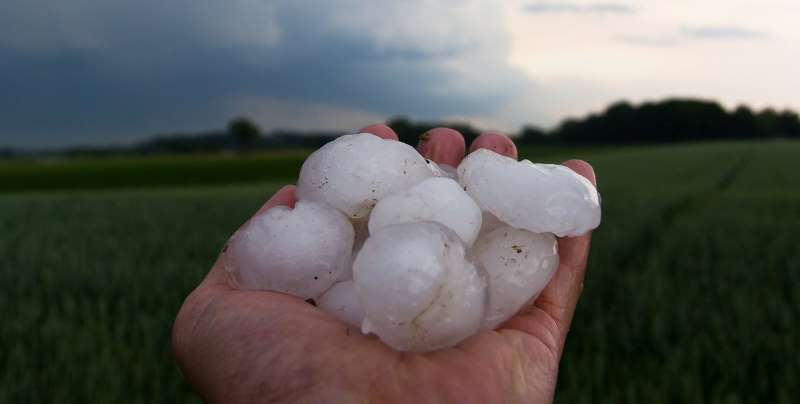Hail Sizes That Damage Roofs