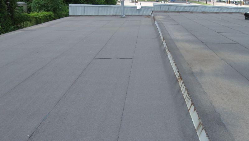 Built Up Bitumen Roof