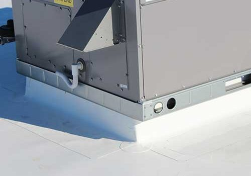 Roof Curb PVC Flashing