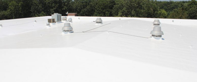 Duro-Last Low Slope Roof Installation Membrane Williamsport, Indiana