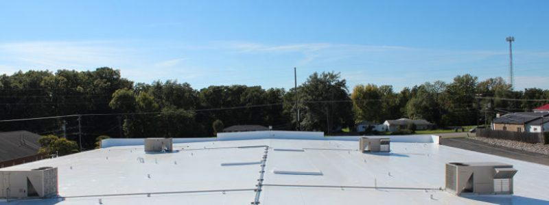 Duro-Last Metal Retrofit Roof Overview Danville IL Crossroads Christian Church