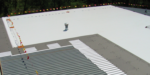 Commercial Metal Retrofit Roof Installation Illinois