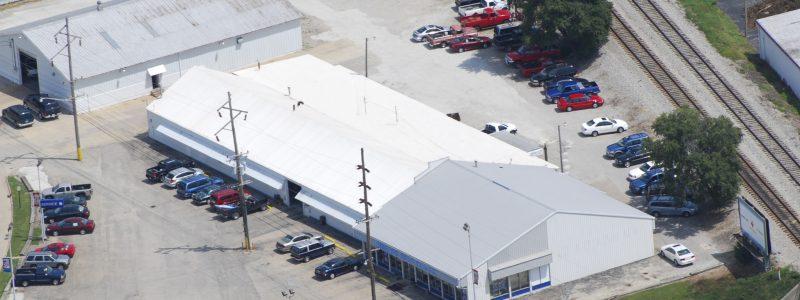Metal Retrofit Roof Commercial Roofing Rantoul, Illinois