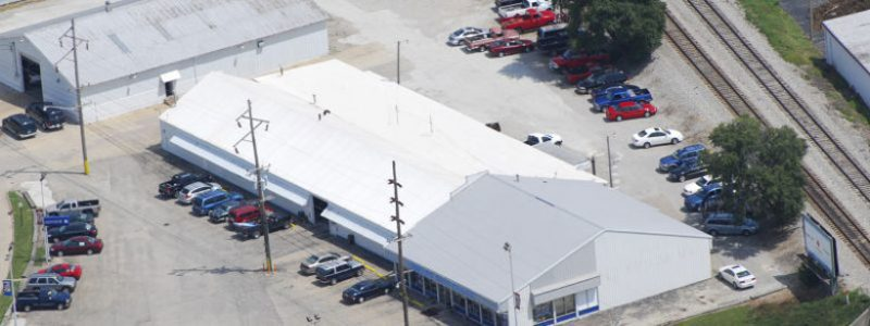 Duro-Last Metal Roofing - Metal Roof Retrofit Rantoul IL at Shield's Auto Center