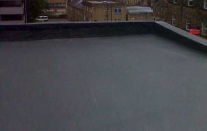 EPDM rubber membrane roof system