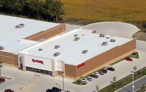 Firestone TPO Flat Roof - Commercial Roof Installation