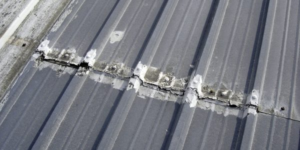 Metal Roof Panel Seam and Fasteners Leaking