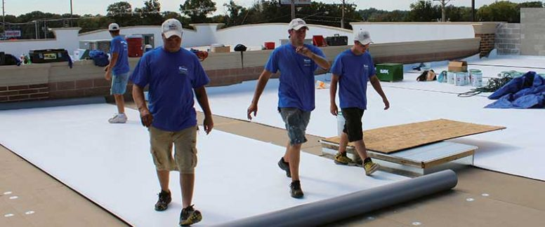 TPO Membrane Roofing System Roll